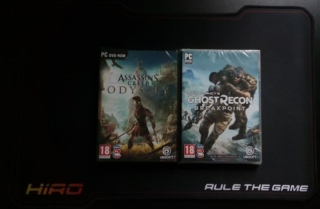NOWE GRY PC: Ghost Recon: Breakpoint + Assassin's Creed: Odyssey