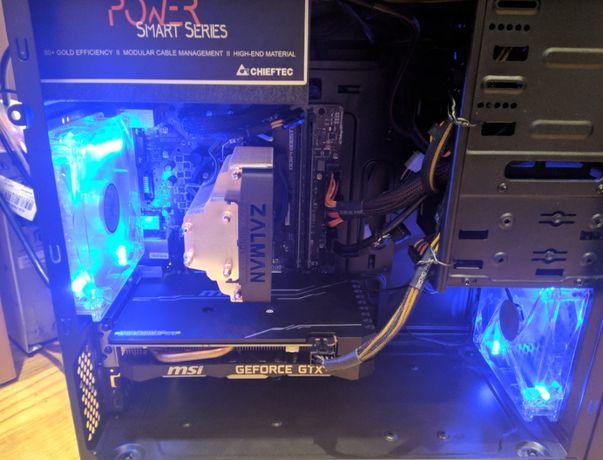 i5-9400F/16Gb RAM/GTX 1660/SSD m.2 Nvme + Sata