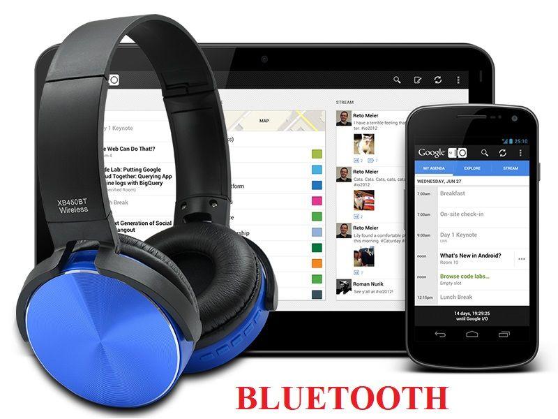 Беспроводные Bluetooth наушники WIRELESS XB450BT Донецк - изображение 1