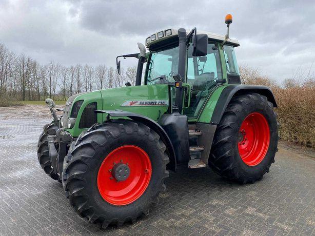 Ciągnik rolniczy Fendt 716 Vario 8000 h. 160 KM