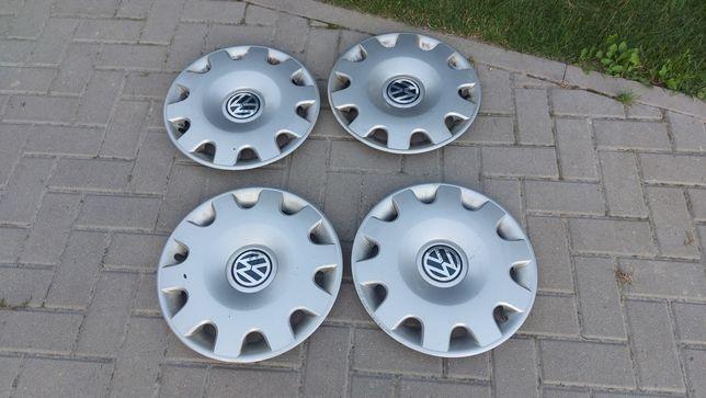 "Kołpaki kapsle Volkswagen 15"" oryginalne"
