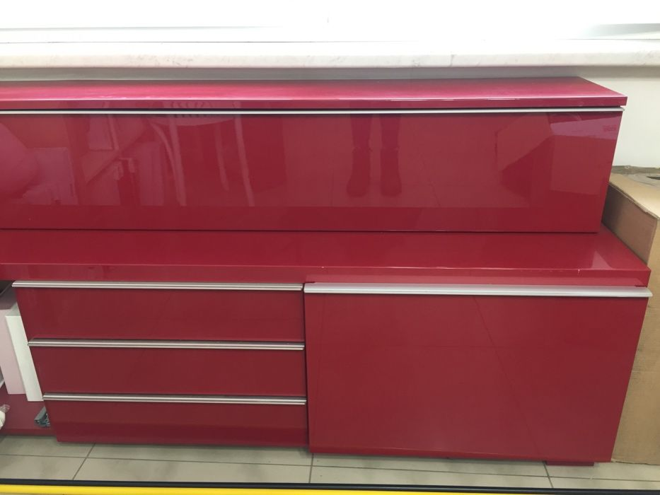 Ikea BESTA BURS szafka pod TV + szafka wolnostojąca