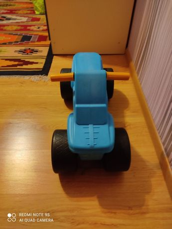 Машинка Орион  голубая