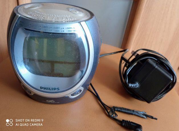 Radio z budzikiem Philips