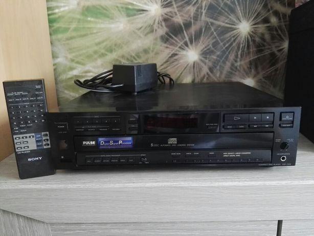 Odtwarzacz cd SONY CDP-C615