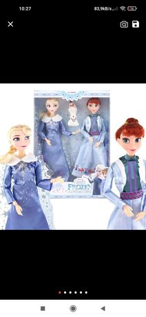Zestaw lalek ELSA, Anna i Olaf