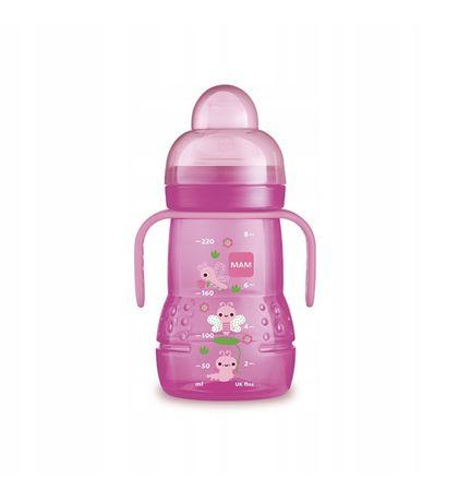 Butelka Treningowa MAM 220 ml różowa