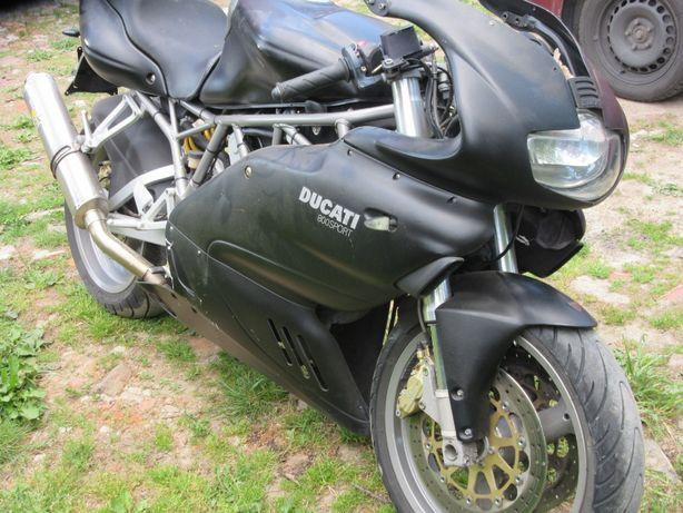 Ducati S 800 ss SUPER SPORT zbiornik owiewka czacha set wtrysk