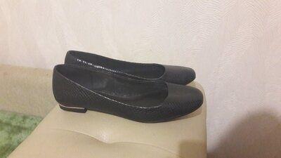 туфли мокасины натуральная кожа 38-39