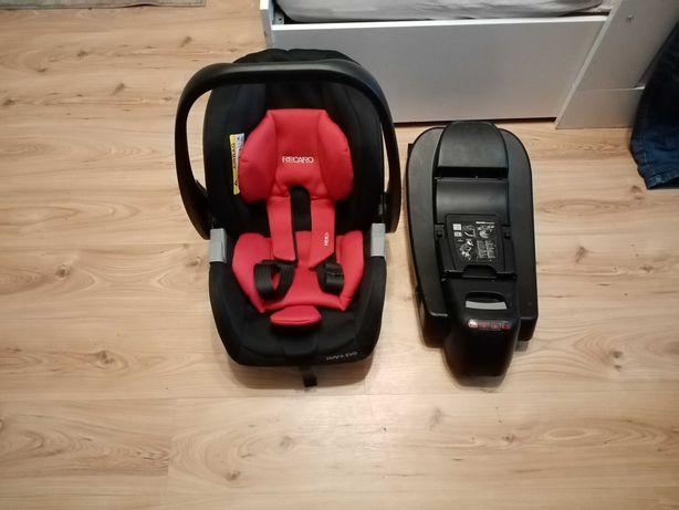 Recaro Privia Evo Fotelik samochodowy/nosidelko 0-13 kg + baza isofix