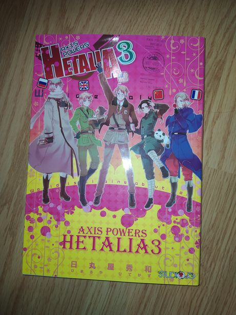 Manga Hetalia Axis Powers 3