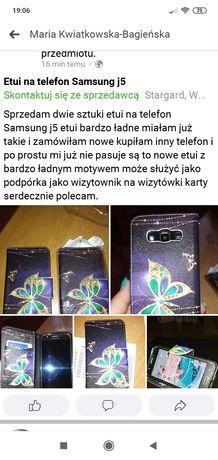 Etui na telefon Samsung j5