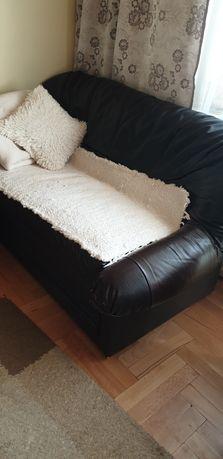 Kanapa skórzana * 2 fotele * Sofa