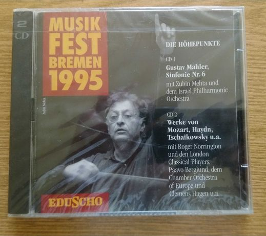 Musikfest Bremen 1995 Mahler Mozart Tchaikowsky 2CD nowa w folii