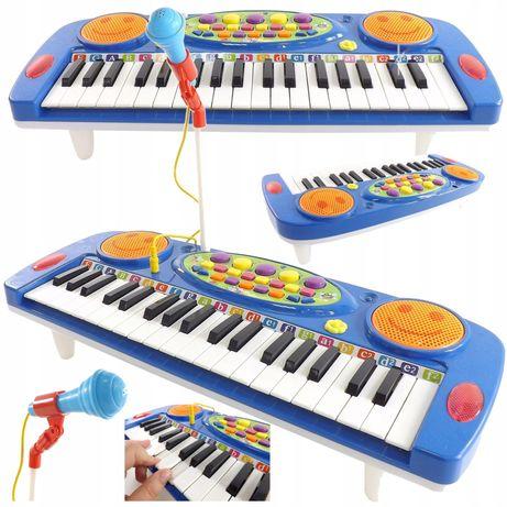 Organy Dla Dzieci Organki Keyboard mikrofon nagrywanie 37 Klawiszy!