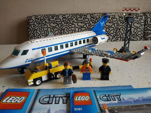 Лего Lego city 3181 пассажирский самолёт оригинал