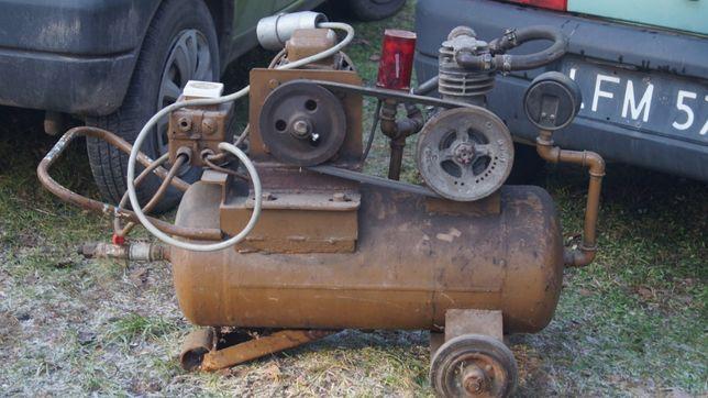 Sprężarka kompresor firmowy Polmo F.O,S da firmy 65 kg zbiornik 40-50