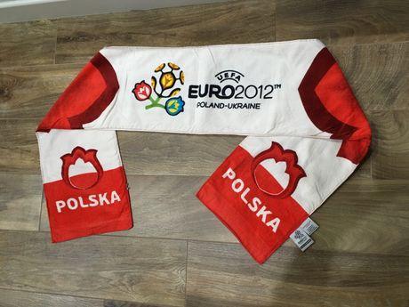 Szalik ręcznik UEFA Euro 2012 Polska Ukraina