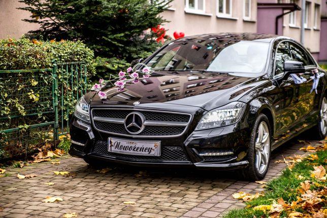 Mercedes CLS 500 AMG V8 408KM auto do ślubu