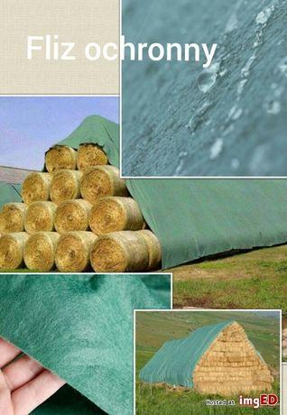 Fliz ochronny 9,80x25m AGROWŁÓKNINA na słomę/siano/zboże