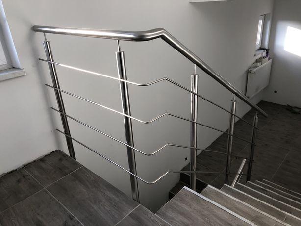 Balustrada nierdzewna barierka balkon schody taras