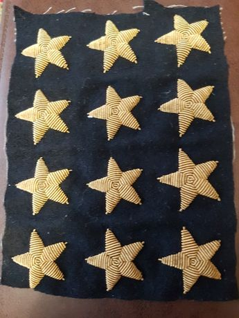 Продам звёзды на тужурку морские