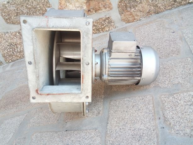Motor extrator/ soprador trifásico de duas velocidades