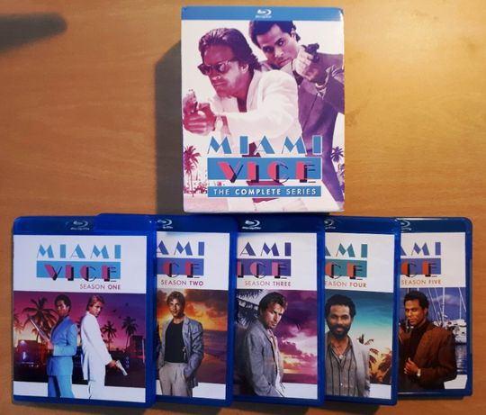 Série TV Miami Vice Completa - Bluray - Region A