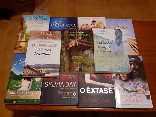 Vários livros 10€ cada