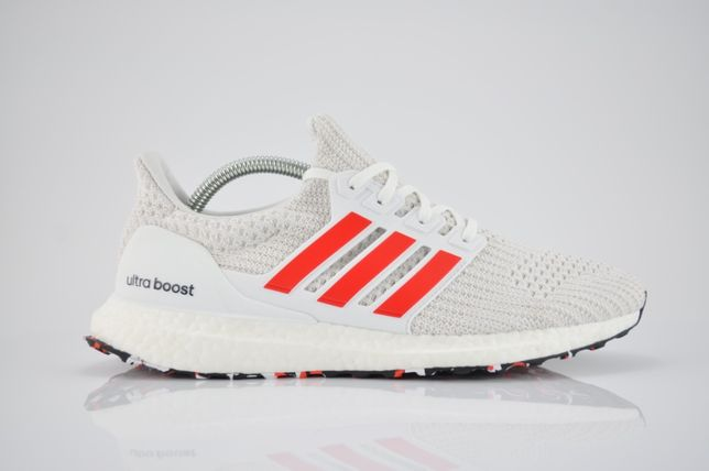 """Adidas Ultra Boost 4.0 """"Cloud White/Active Red"""" 42 białe PURRFECT"""
