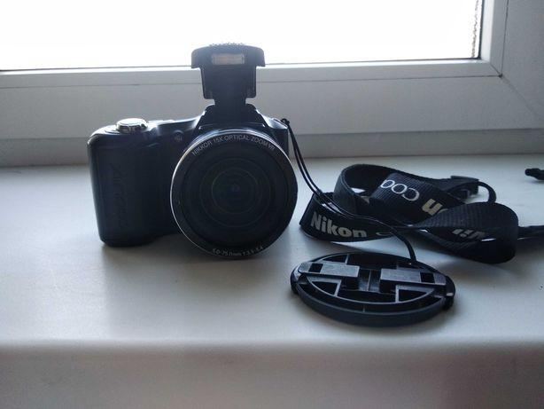 Продам фотокамеру Nikon Coolpix L100