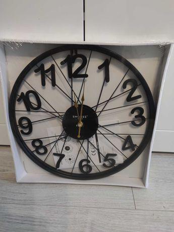 zegar ścienny Stylowy - czarny
