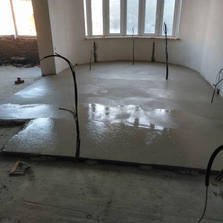 Отделочные и бетонные работы
