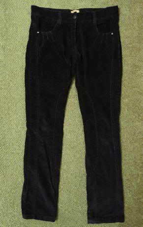 Штаны, брюки черные, вельветовые 9-12 лет, можно школьные