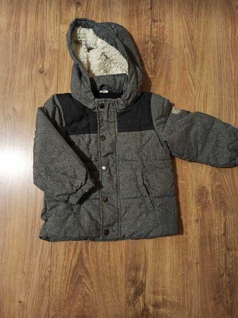 Kurteczka jesienna/zimowa chłopięca H&M rozmiar 92 szara