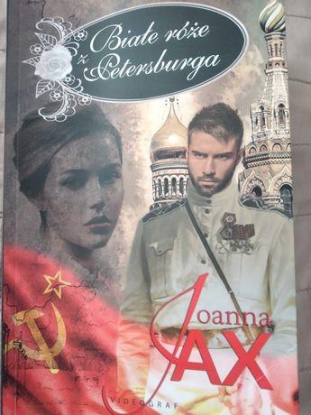 Sprzedam książkę  Joanna  jax  biale róże  z Petersburga