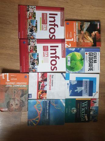 Książki podręczniki do 1 klasy technikum liceum