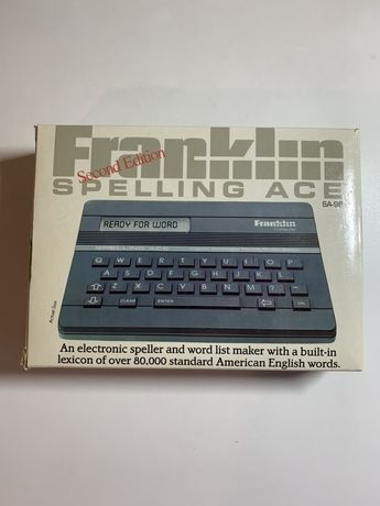 Franklin spelling ace (sa 98)IDEALNA!!!