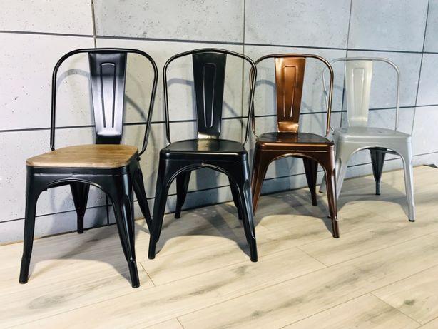 krzesło stalowe NOWE LOFT metalowe nowoczesne krzesła