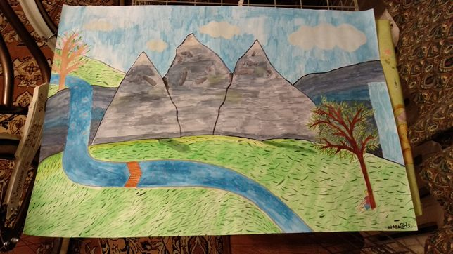 Картина трёх гор