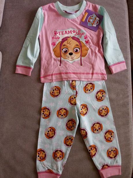 Piżama niemowlęca dla dziewczynki Psi patrol 6-9 mcy