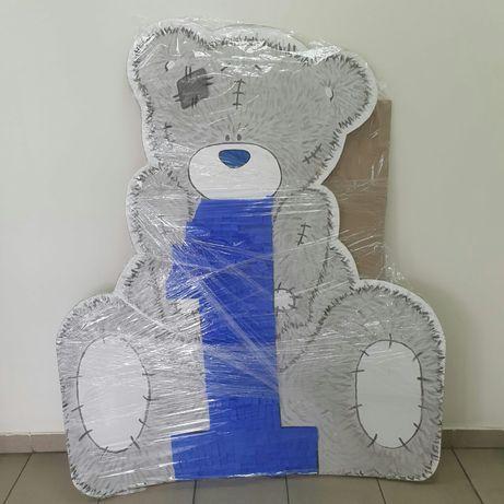 Мишка Тедди для фотозоны на детский День рождения