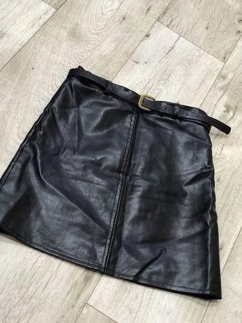 Новая кожаная юбка