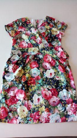 Красивое женское платье 46 размер новое