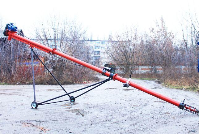 А К Ц И Я ГОДА!!! Шнековый погрузчик, винтовой конвейер 130 мм, 6 м!