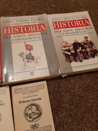 Podręczniki książki historyczne