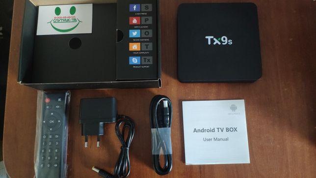 TX9S - Бестселлер на Android TV 9.0