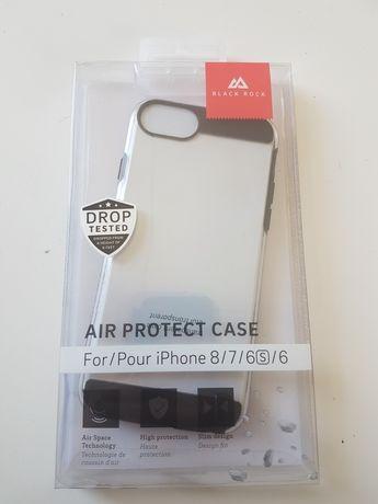 Case pokrowiec na iphone 6 6s 7 8 black rock