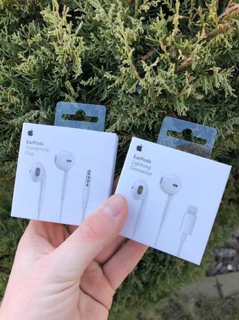 Apple EarPods/100% Оригинал/Наушники/Original/ЕарПодс/Lightning/3.5mm