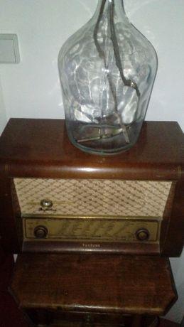Radio Tonefunk perfecto madeira 50cm antigo